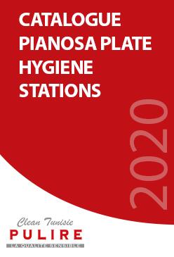 Catalogue PIANOSA PLATE HYGIENE STATIONS
