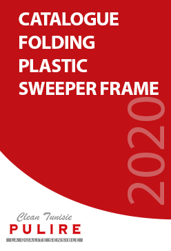 Catalogue FOLDING PLASTIC SWEEPER FRAME