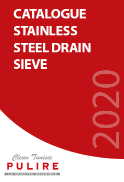 Catalogue  STAINLESS STEEL DRAIN SIEVE